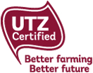 Utz certified chocolate bars