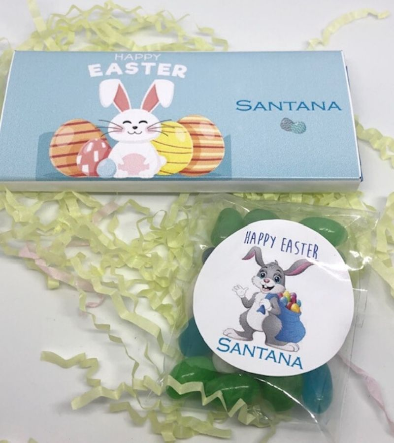 personalised easter treats and favours