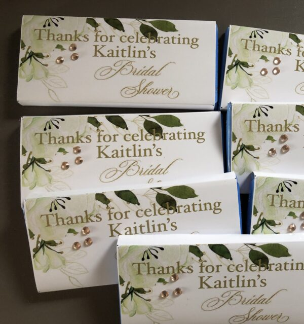 Personalised Hens Party Wrapped Chocolate Bars