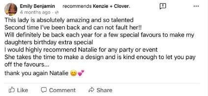 Kenzie and clover testimonial 7